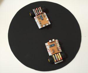 プログラミングで電子相撲
